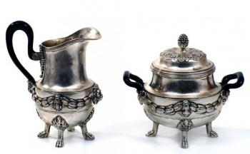 Silver Table Set - 1920